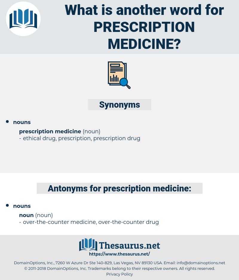 prescription medicine, synonym prescription medicine, another word for prescription medicine, words like prescription medicine, thesaurus prescription medicine