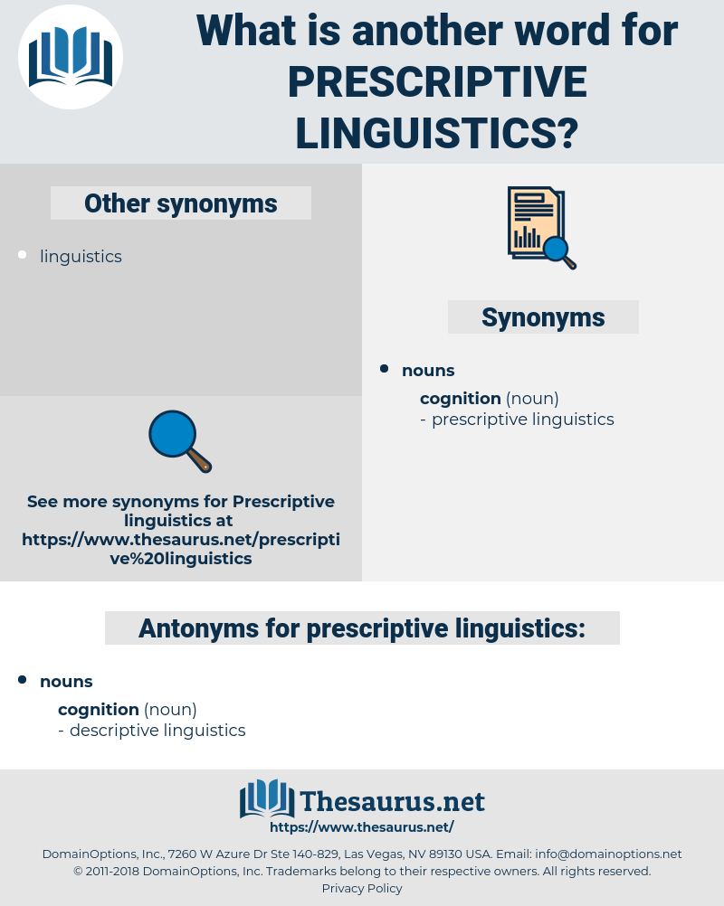 prescriptive linguistics, synonym prescriptive linguistics, another word for prescriptive linguistics, words like prescriptive linguistics, thesaurus prescriptive linguistics