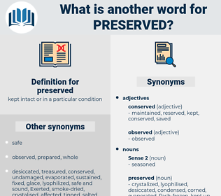 preserved, synonym preserved, another word for preserved, words like preserved, thesaurus preserved