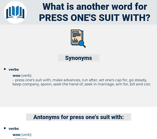 press one's suit with, synonym press one's suit with, another word for press one's suit with, words like press one's suit with, thesaurus press one's suit with
