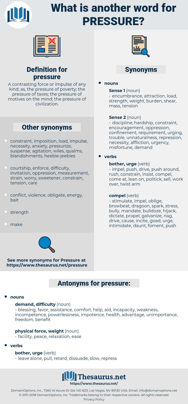 pressure, synonym pressure, another word for pressure, words like pressure, thesaurus pressure