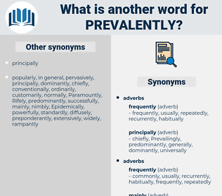 Prevalently, synonym Prevalently, another word for Prevalently, words like Prevalently, thesaurus Prevalently