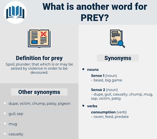 prey, synonym prey, another word for prey, words like prey, thesaurus prey