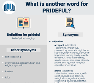 prideful, synonym prideful, another word for prideful, words like prideful, thesaurus prideful