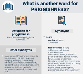 priggishness, synonym priggishness, another word for priggishness, words like priggishness, thesaurus priggishness