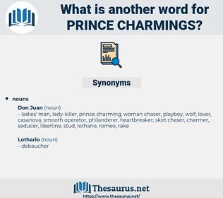 prince charmings, synonym prince charmings, another word for prince charmings, words like prince charmings, thesaurus prince charmings
