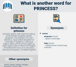 princess, synonym princess, another word for princess, words like princess, thesaurus princess