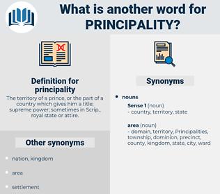 principality, synonym principality, another word for principality, words like principality, thesaurus principality