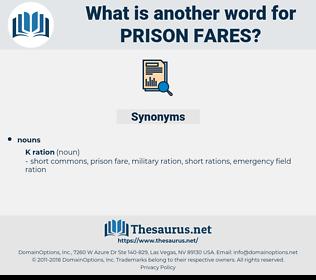 prison fares, synonym prison fares, another word for prison fares, words like prison fares, thesaurus prison fares