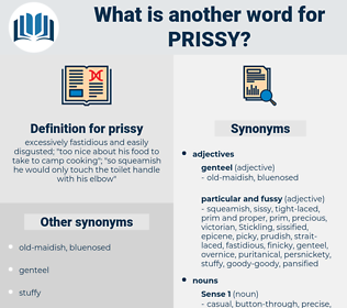 prissy, synonym prissy, another word for prissy, words like prissy, thesaurus prissy