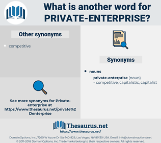 Private Enterprise, synonym Private Enterprise, another word for Private Enterprise, words like Private Enterprise, thesaurus Private Enterprise