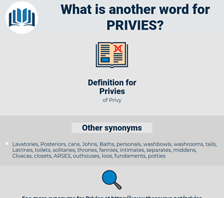 Privies, synonym Privies, another word for Privies, words like Privies, thesaurus Privies
