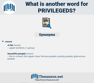 privilegeds, synonym privilegeds, another word for privilegeds, words like privilegeds, thesaurus privilegeds