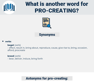 pro creating, synonym pro creating, another word for pro creating, words like pro creating, thesaurus pro creating