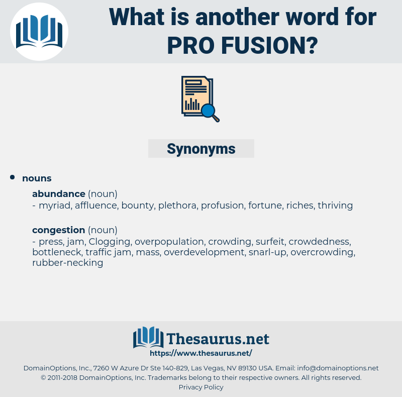 pro fusion, synonym pro fusion, another word for pro fusion, words like pro fusion, thesaurus pro fusion