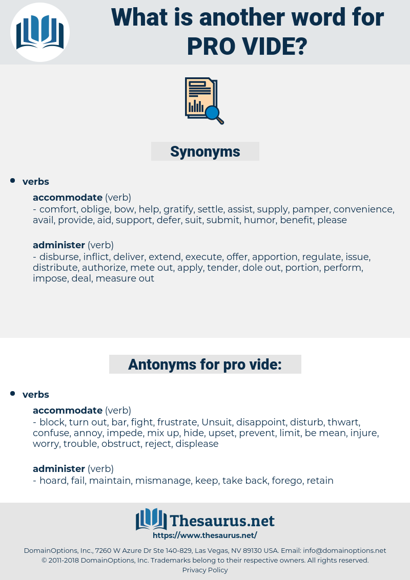 pro vide, synonym pro vide, another word for pro vide, words like pro vide, thesaurus pro vide