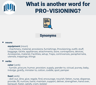 pro visioning, synonym pro visioning, another word for pro visioning, words like pro visioning, thesaurus pro visioning
