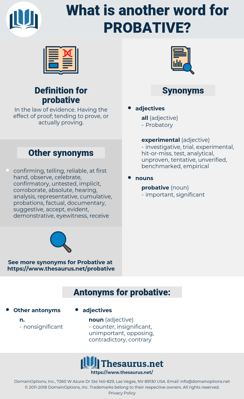 probative, synonym probative, another word for probative, words like probative, thesaurus probative