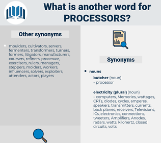 processors, synonym processors, another word for processors, words like processors, thesaurus processors