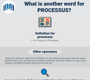 processus, synonym processus, another word for processus, words like processus, thesaurus processus