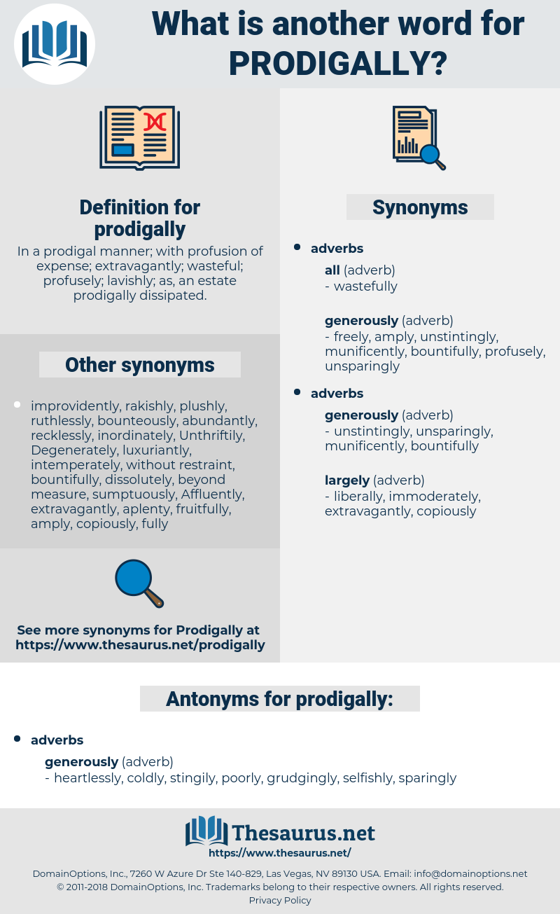 prodigally, synonym prodigally, another word for prodigally, words like prodigally, thesaurus prodigally