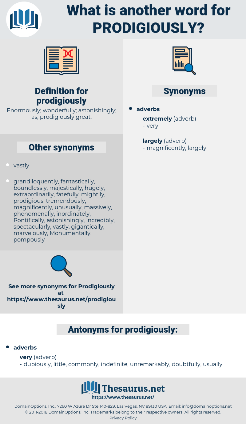 prodigiously, synonym prodigiously, another word for prodigiously, words like prodigiously, thesaurus prodigiously