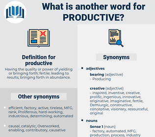 productive, synonym productive, another word for productive, words like productive, thesaurus productive