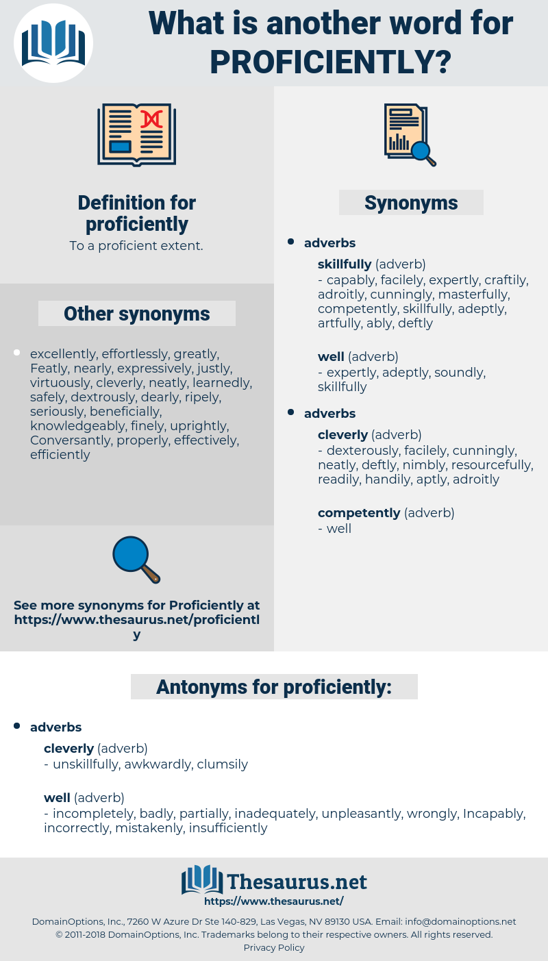 proficiently, synonym proficiently, another word for proficiently, words like proficiently, thesaurus proficiently