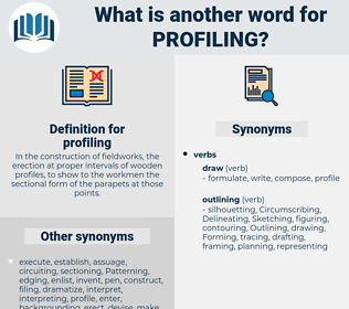 profiling, synonym profiling, another word for profiling, words like profiling, thesaurus profiling