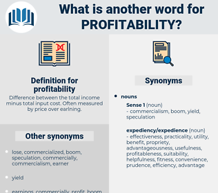 profitability, synonym profitability, another word for profitability, words like profitability, thesaurus profitability