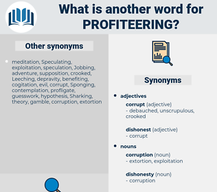profiteering, synonym profiteering, another word for profiteering, words like profiteering, thesaurus profiteering