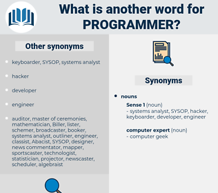 programmer, synonym programmer, another word for programmer, words like programmer, thesaurus programmer