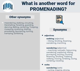 Promenading, synonym Promenading, another word for Promenading, words like Promenading, thesaurus Promenading