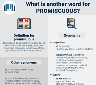 promiscuous, synonym promiscuous, another word for promiscuous, words like promiscuous, thesaurus promiscuous