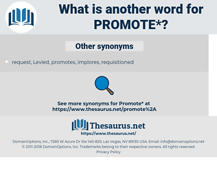 promote, synonym promote, another word for promote, words like promote, thesaurus promote