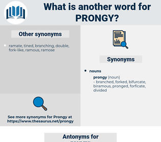 prongy, synonym prongy, another word for prongy, words like prongy, thesaurus prongy