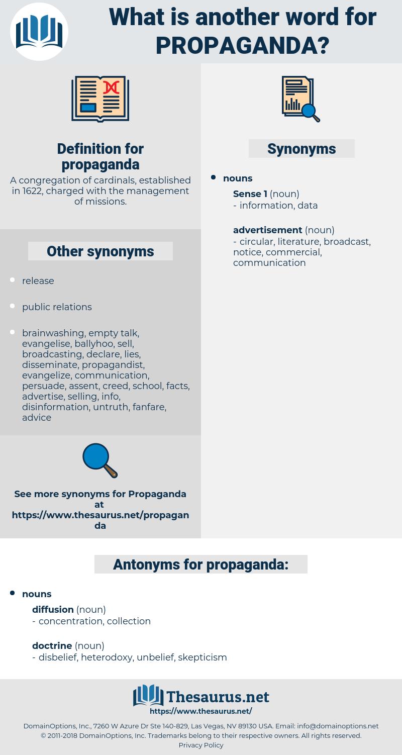 propaganda, synonym propaganda, another word for propaganda, words like propaganda, thesaurus propaganda