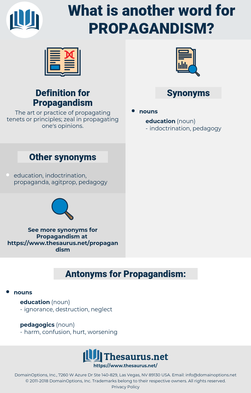 Propagandism, synonym Propagandism, another word for Propagandism, words like Propagandism, thesaurus Propagandism
