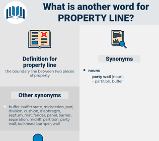 property line, synonym property line, another word for property line, words like property line, thesaurus property line