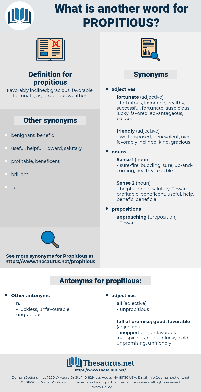propitious, synonym propitious, another word for propitious, words like propitious, thesaurus propitious