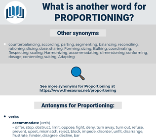Proportioning, synonym Proportioning, another word for Proportioning, words like Proportioning, thesaurus Proportioning