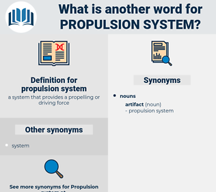 Synonyms For Propulsion System Thesaurus Net