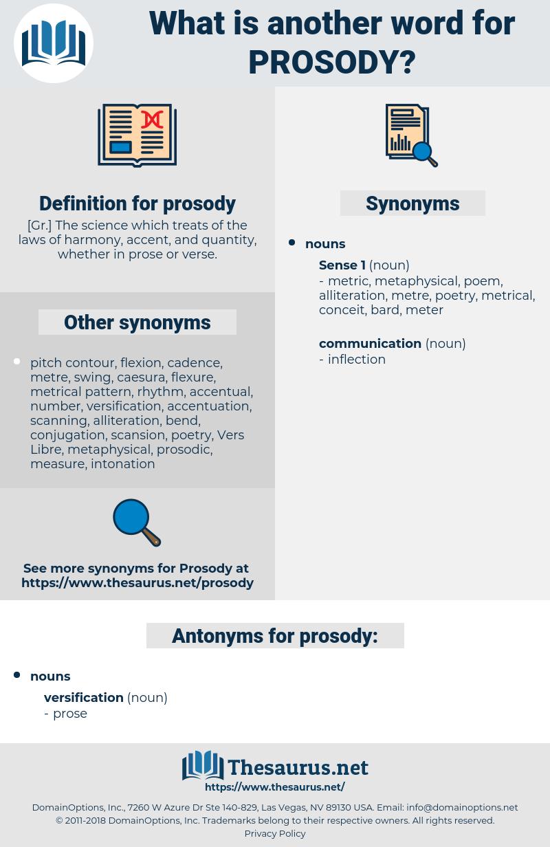 prosody, synonym prosody, another word for prosody, words like prosody, thesaurus prosody