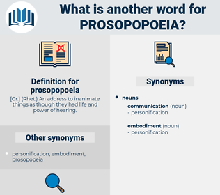 prosopopoeia, synonym prosopopoeia, another word for prosopopoeia, words like prosopopoeia, thesaurus prosopopoeia