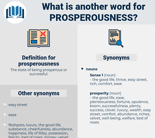 prosperousness, synonym prosperousness, another word for prosperousness, words like prosperousness, thesaurus prosperousness