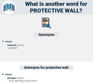 protective wall, synonym protective wall, another word for protective wall, words like protective wall, thesaurus protective wall