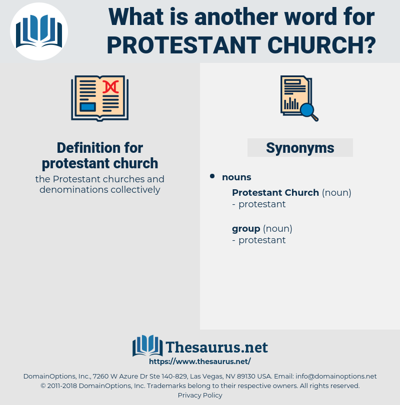 protestant church, synonym protestant church, another word for protestant church, words like protestant church, thesaurus protestant church