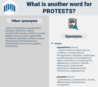 protests, synonym protests, another word for protests, words like protests, thesaurus protests