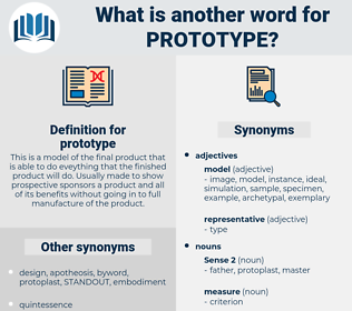 prototype, synonym prototype, another word for prototype, words like prototype, thesaurus prototype
