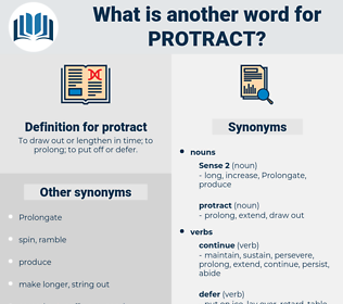 protract, synonym protract, another word for protract, words like protract, thesaurus protract